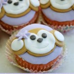 Girl Monkey Cupcakes Tutorial
