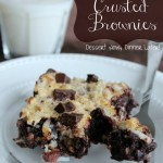Coconut & Pecan Crusted Brownies