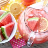 Bad watermelon? Don't throw it out! Make watermelon lemonade with this easy 3-ingredient recipe!