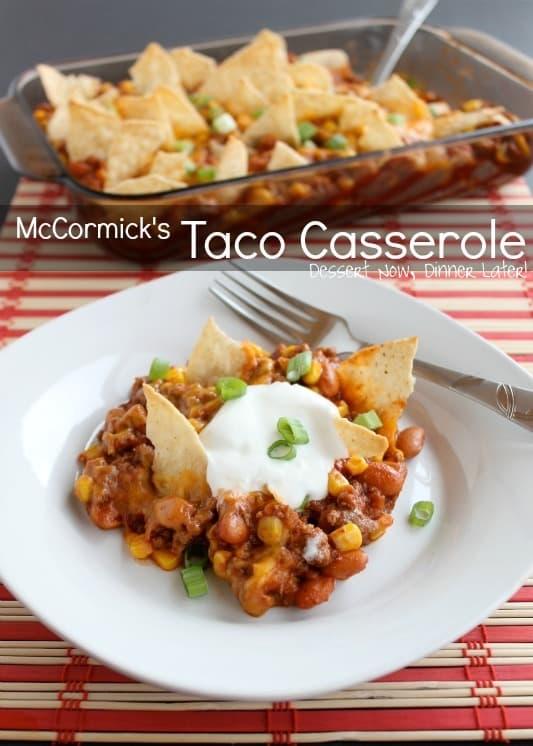 McCormick Taco Casserole1