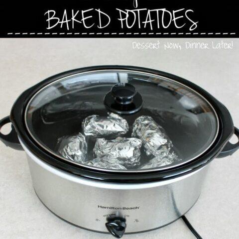 Crockpot Baked Potatoes