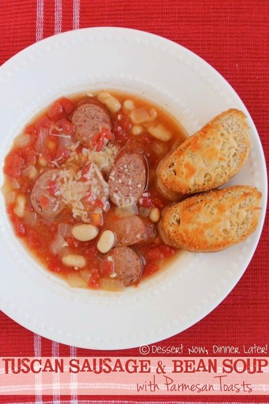Tuscan Sausage & Bean Soup