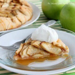 Caramel Apple Crostata