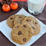 Chewy Pumpkin Chocolate Chip Cookies {NOT CAKEY}