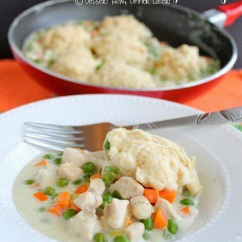 Skillet Chicken & Dumplings