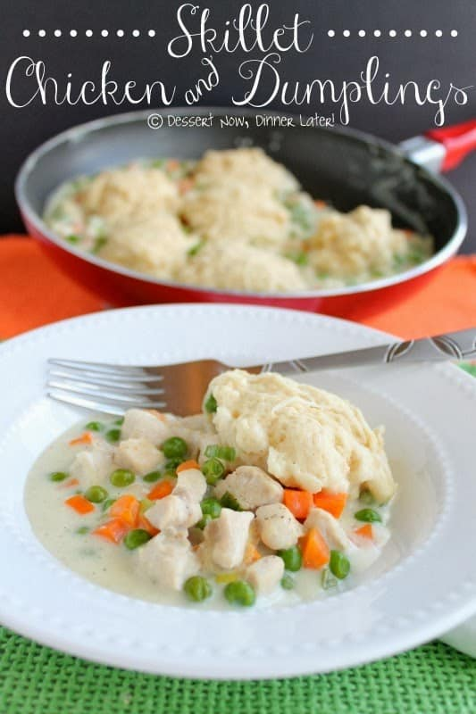 Skillet Chicken & Dumplings1