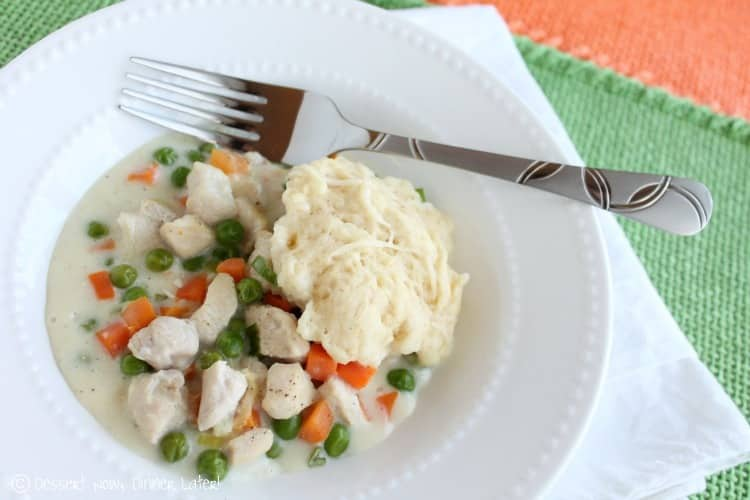 Skillet Chicken & Dumplings2