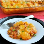 Sloppy Joe Tator Tot Casserole