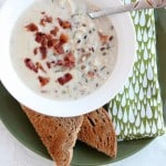 Chicken & Bacon Wild Rice Soup