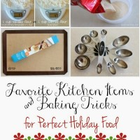 Favorite Kitchen Items & Baking Tricks for Perfect Holiday Food