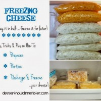 Freezing Cheese