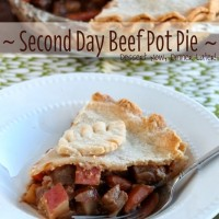 Second Day Beef Pot Pie