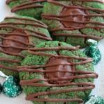Mint Truffle Thumbprint Cookies