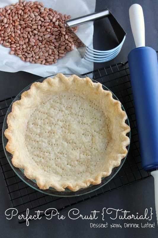 Perfect Pie Crust {Tutorial} - Dessert Now, Dinner Later!