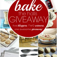 Bake the Halls Giveaway (2 winners!!!)