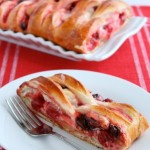 Chocolate Cherry Cream Braid