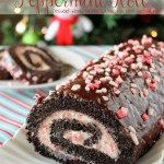 Dark Chocolate Peppermint Roll {Guest Post}