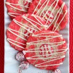 Peppermint Thumbprint Cookies