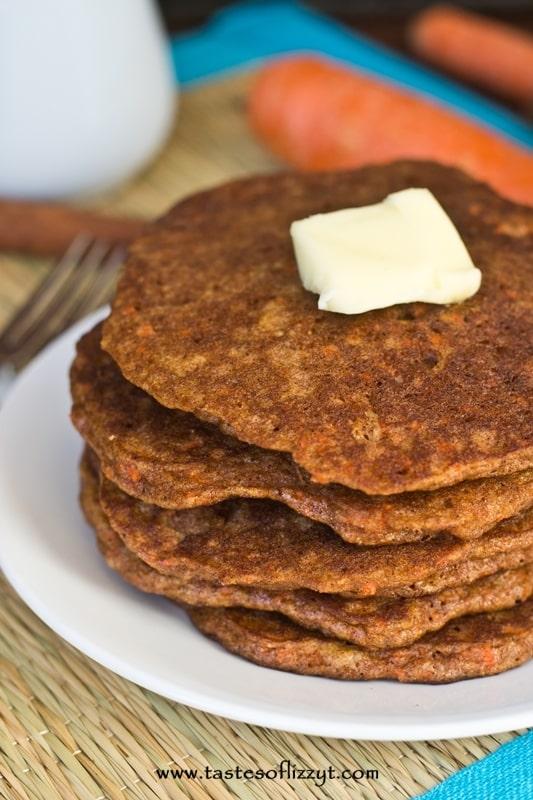 Carrot Cake Pancakes - Dessert Now, Dinner Later!