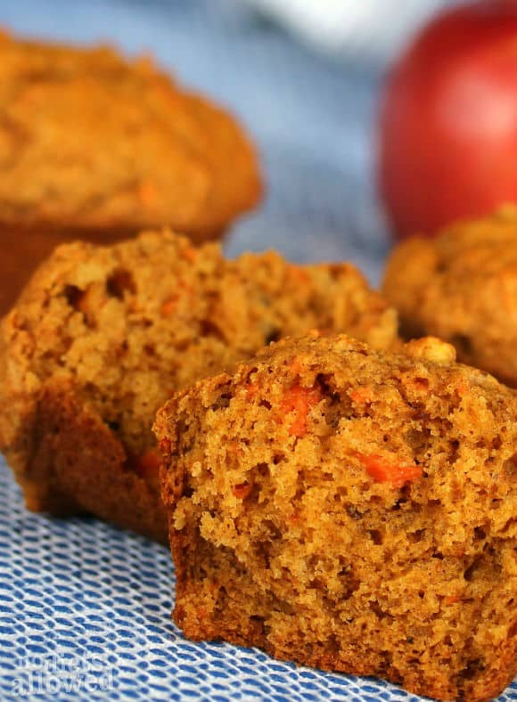 Morning Glory Muffins- No Diets Allowed