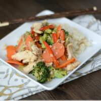 Paleo Chicken Stir-Fry