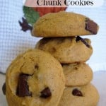 Pumpkin Chocolate Chunk Cookies