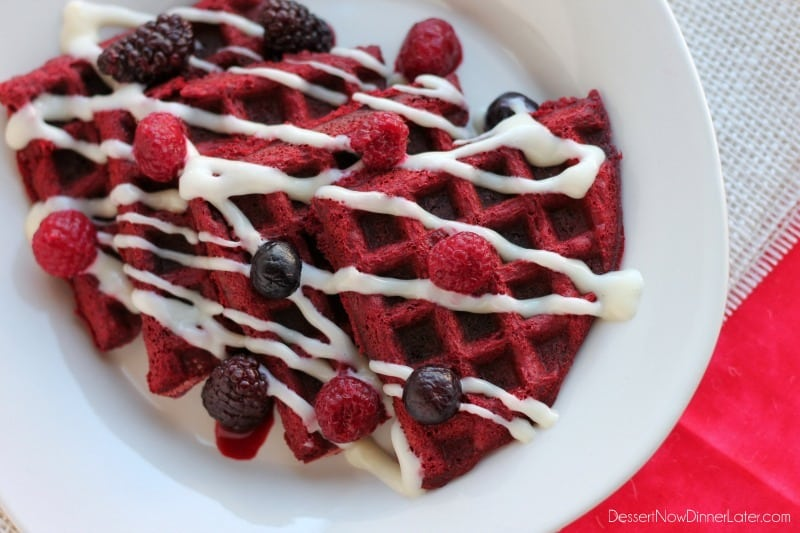 Red Velvet Waffles2