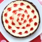 Valentine's Day Cheesecake