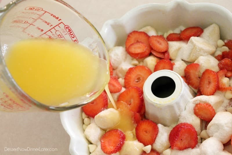 Vanilla Strawberry Monkey Bread8