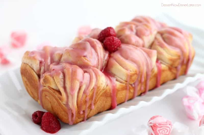 Raspberry Butterflake Loaf2