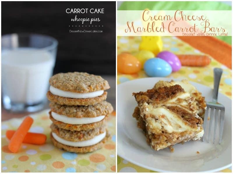 More carrot cake recipes!