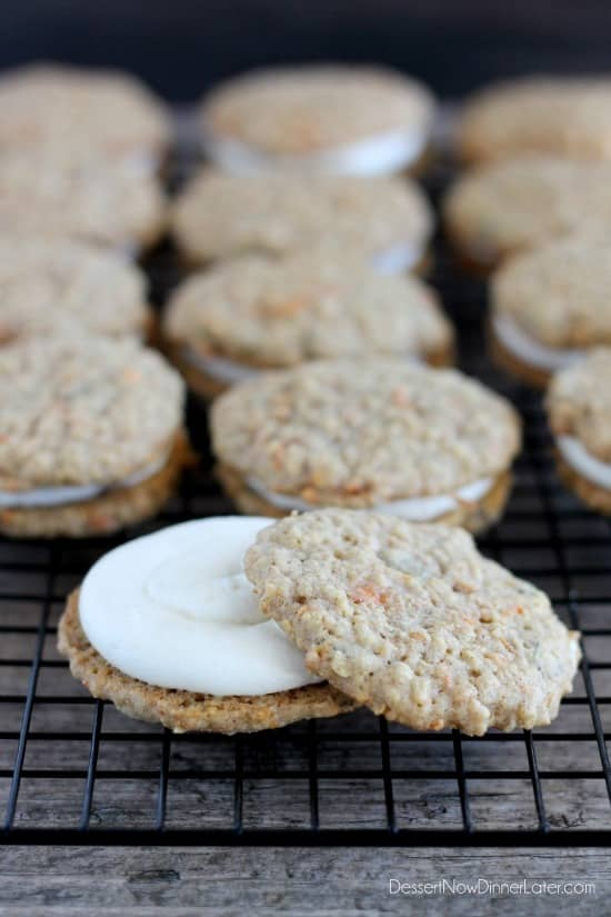 Carrot Cake Whoopie Pies - Dessert Now, Dinner Later!