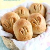Fluffy Whole Wheat Bunny Rolls