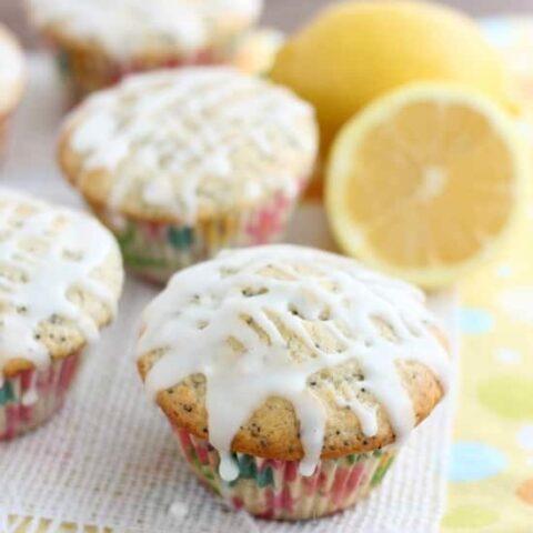 Lemon Poppy Muffins