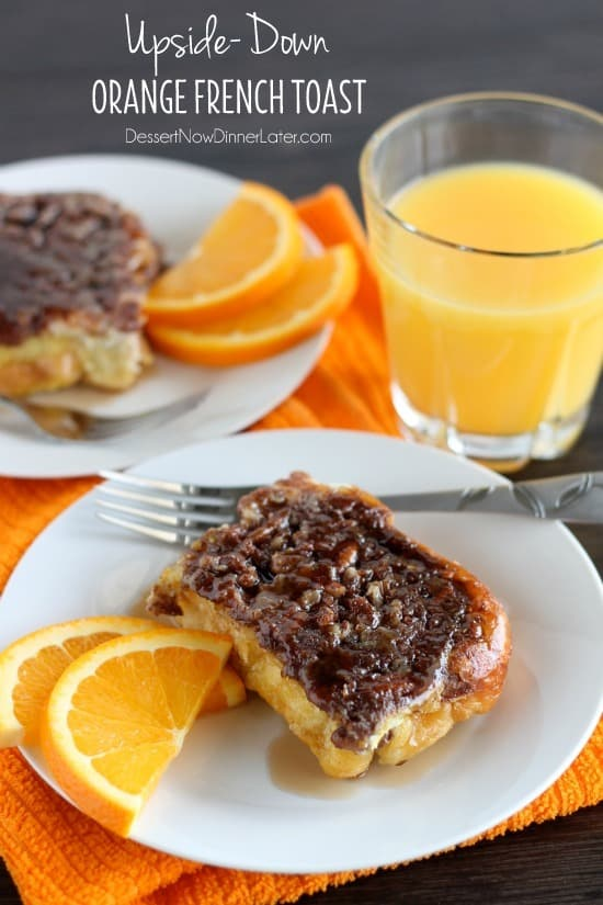 Upside-Down Orange French Toast