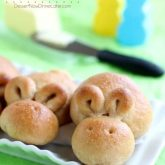 Whole Wheat Easter Bunny Rolls