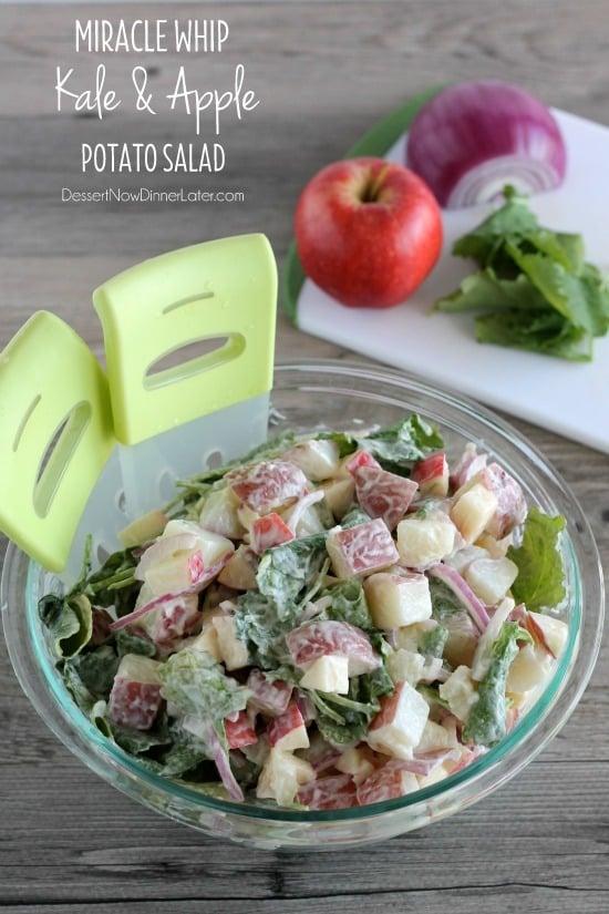 apple potato salad this summer make a potato kale apple potato salad ...