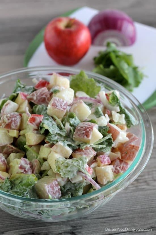 MIRACLE WHIP Kale & Apple Potato Salad