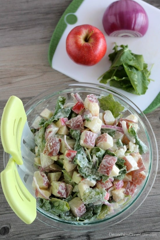 MIRACLE WHIP Kale & Apple Potato Salad3