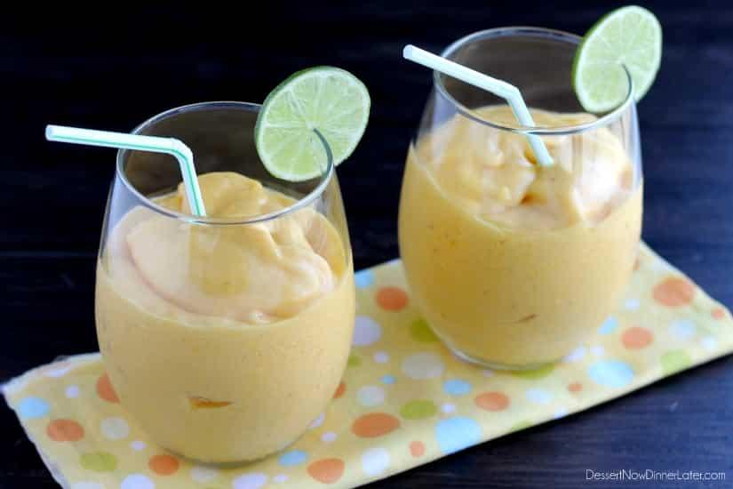 Mango Colada Mocktail
