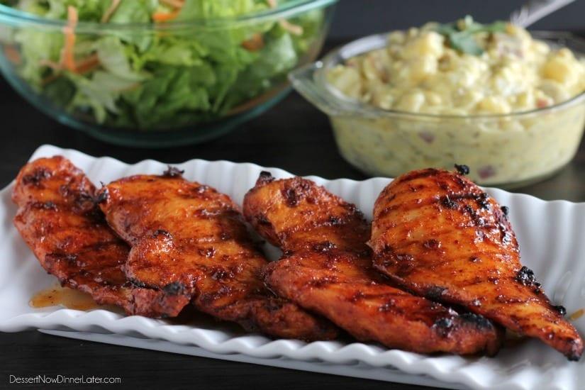 Spicy Honey Chicken2