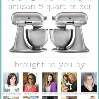5QT KitchenAid Mixer Giveaway April 14th - 18th, 2014