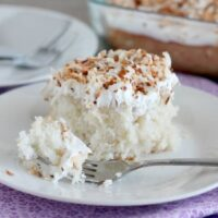 Coconut Cream Poke Cake (+ Video)