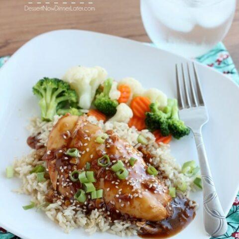 Crockpot Asian Sesame Chicken