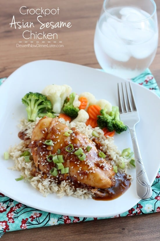 Crockpot Asian Sesame Chicken