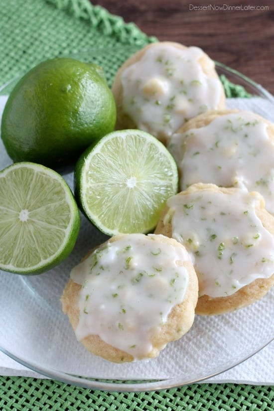 these cookies aren t super limey but they are soft and delicious with ...