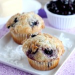 Coconut Blueberry Muffins