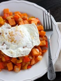Sweet Potato Hash from DessertNowDinnerLater.com