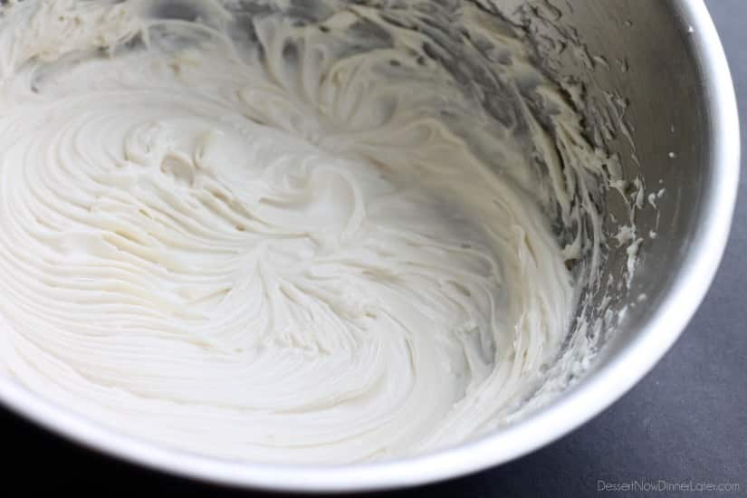 The BEST Cream Cheese Frosting - Dessert Now, Dinner Later!