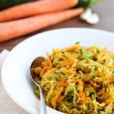 Zucchini and Carrot Hash